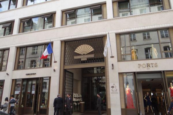 Restaurante Camélia no Mandarin Oriental - Paris