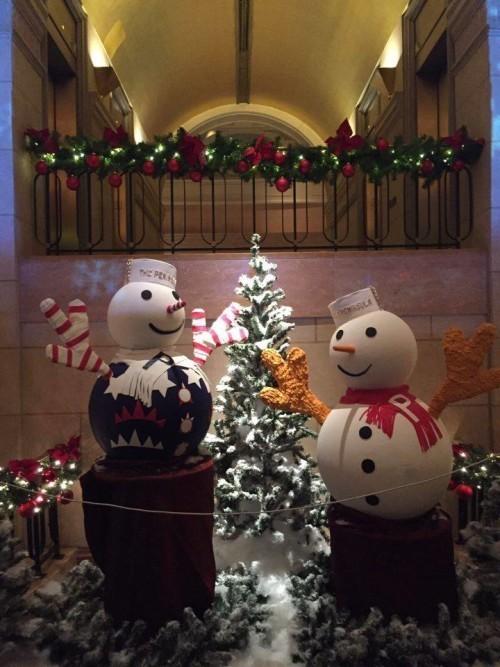 Decoracao de Natal em NY