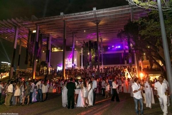 Festa de Reveillón em Miami