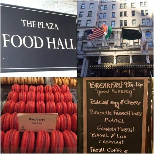Mercado Gourmet do Plaza em NY