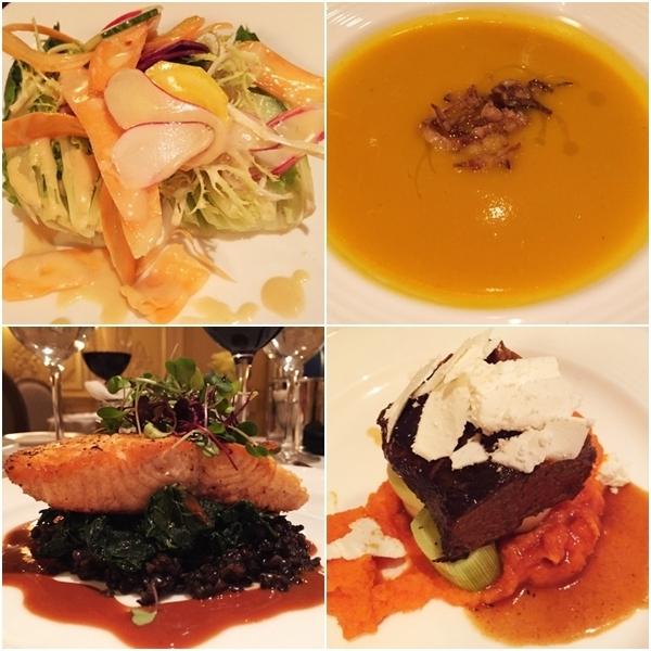 Jantar no Hotel Plaza Athenée NY 6