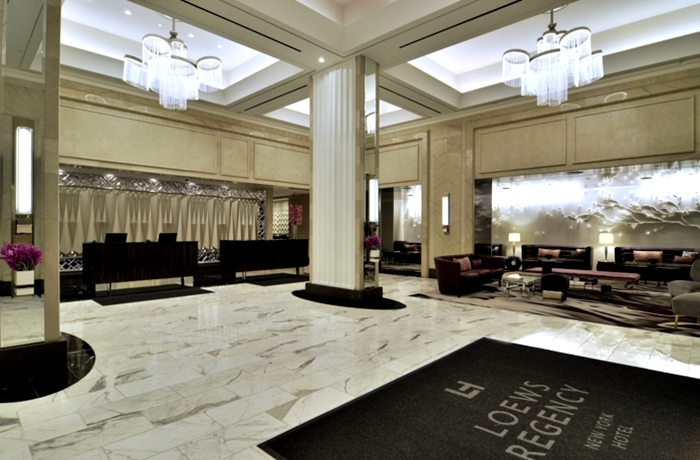 Loews Regency tem localização privilegiada - melhores hotéis de NY