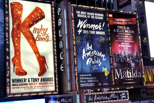 Musicais da Broadway em cartaz em NY