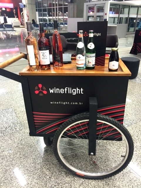 novo bar de vinhos no galeão