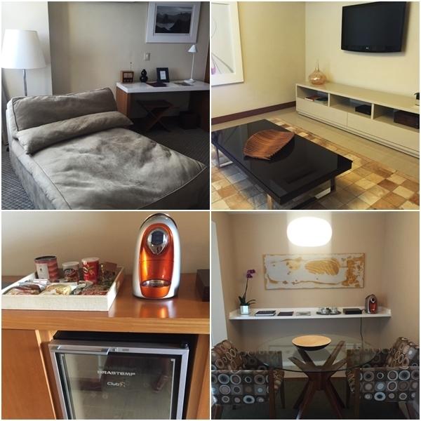 O charmoso Marina All Suites, no Leblon