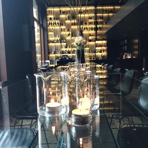 Almoço no Conservatorium Hotel, em Amsterdã