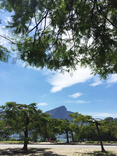 A vista do Rancho Português