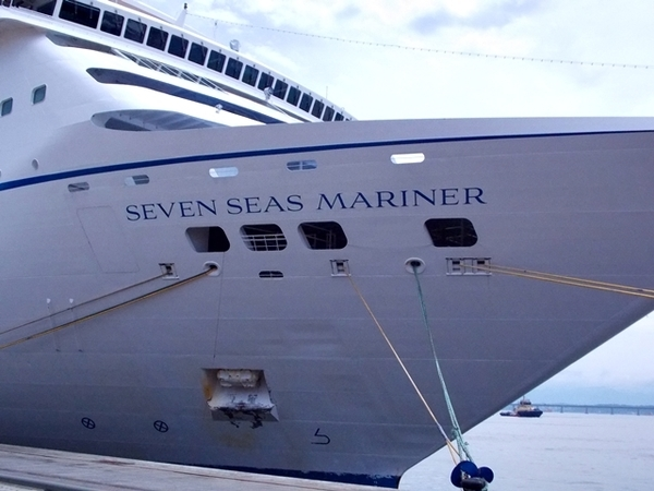 Almoço no Regent Seven Seas Mariner 2
