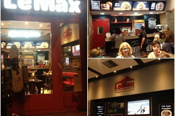 Le Max, hamburgueria gourmet no Centro