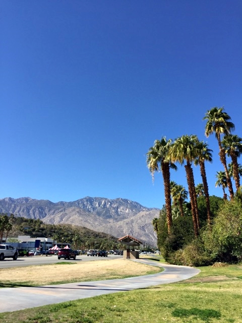 Ruas de Palm Springs