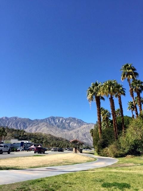 Ruas de Palm Springs