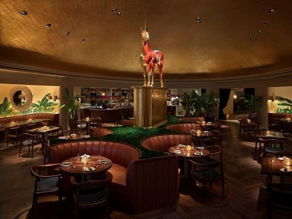 Restaurante do novo hotel Faena Miami