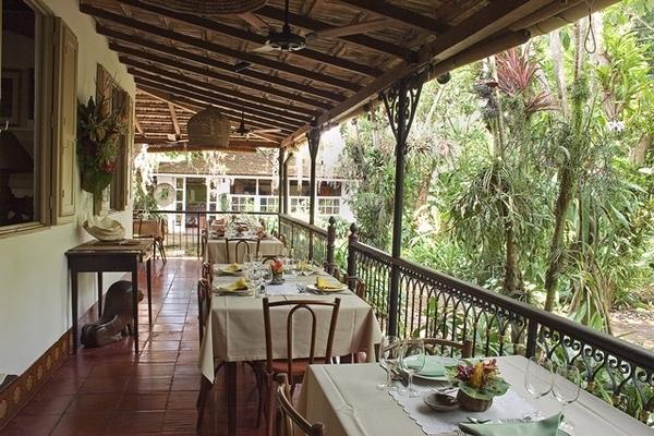 Restaurante Quinta, uma chácara em Vargem Grande