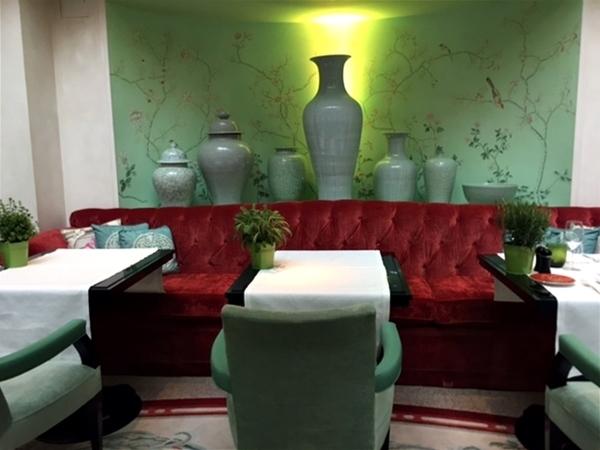 Almoço no Hotel Shangrila em Paris 10
