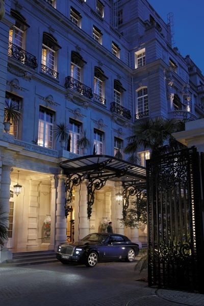 Almoço no Hotel Shangrila em Paris 13