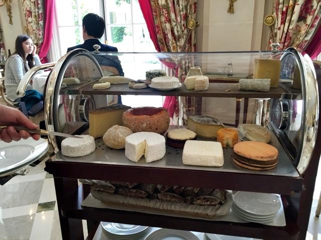 Almoço no restaurante Epicure, do hotel Le Bristol
