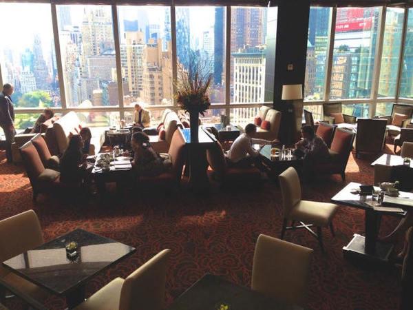 Interior do Mandarin Oriental um dos melhores hotéis de NY
