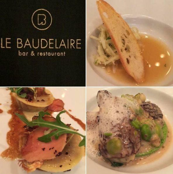 Jantar no Restaurante Baudelaire em Paris