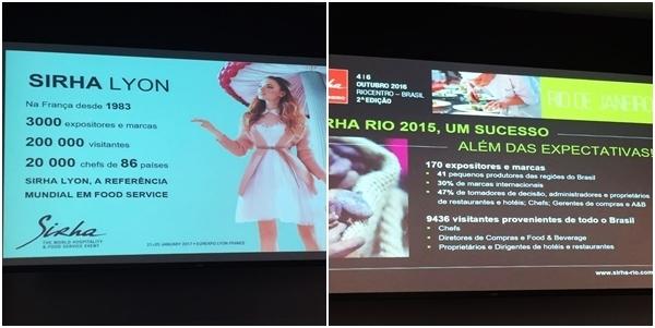 Lançamento do Sirha Rio de Janeiro no Hotel Grand Mercure