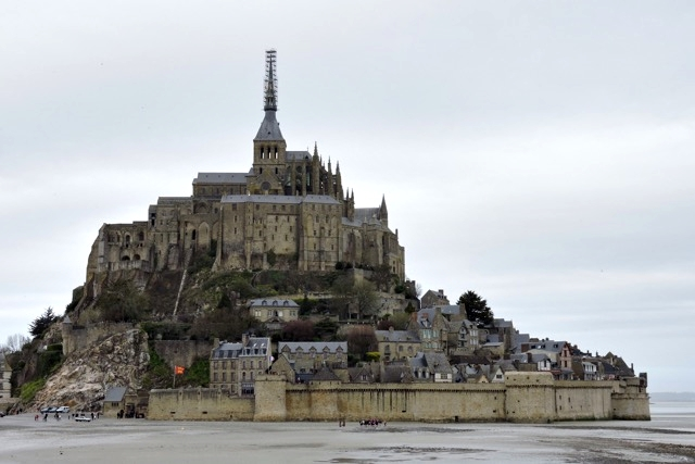 Visita ao Monte Saint-Michel