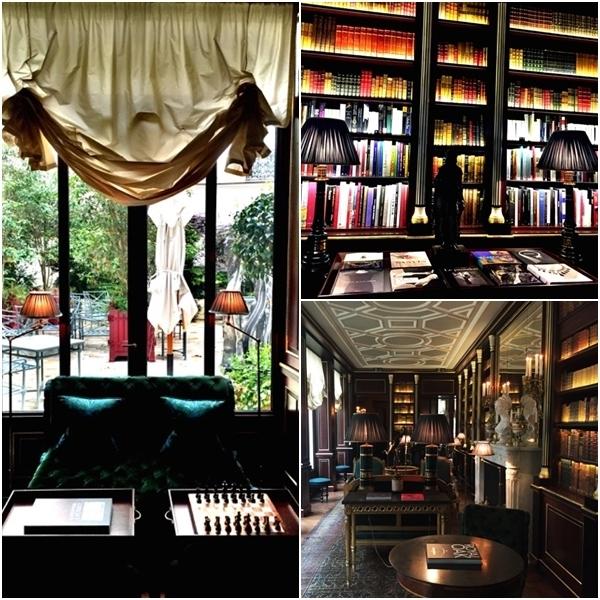 Almoço no Hotel La Reserve, em Paris 10