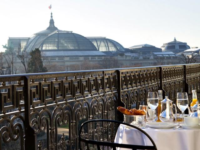 Almoço no Hotel La Reserve, em Paris 16