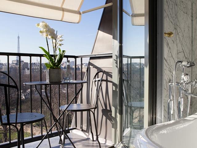 Almoço no Hotel La Reserve, em Paris 17