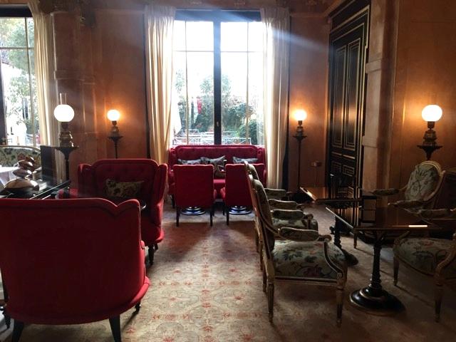 Almoço no Hotel La Reserve, em Paris 2