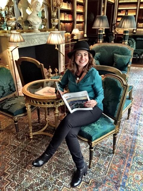 Almoço no Hotel La Reserve, em Paris 9