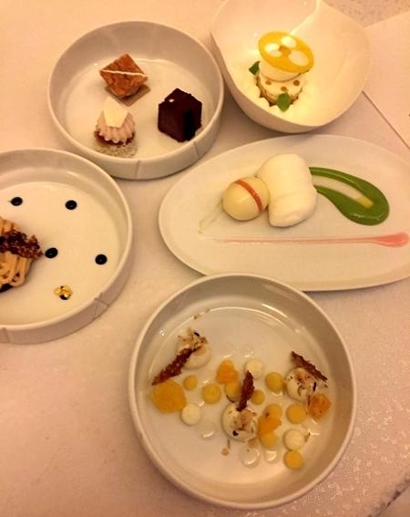 Almoço no Mandarin Oriental em Paris 7