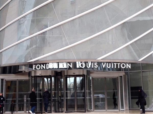 Fundação Louis Vitton em Paris