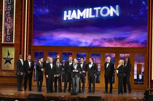 Elenco e diretores de Hamilton