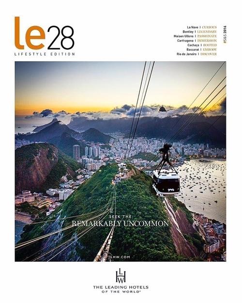 Rio de Janeiro na Revista Leading