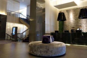 Lobby do Hotel Intercontinental