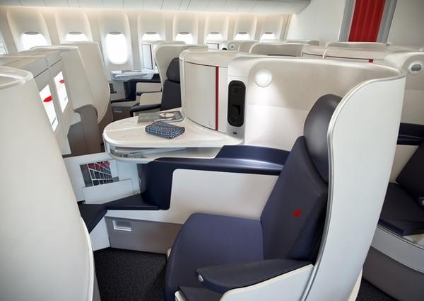 Nova classe Executiva da Air France 14