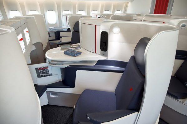 Nova classe Executiva da Air France 20
