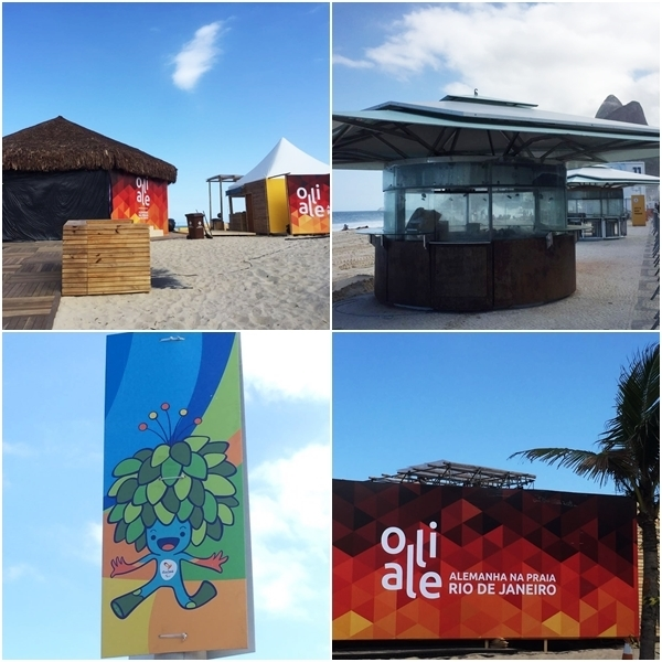 Casas temáticas nas Olimpíadas do Rio 2