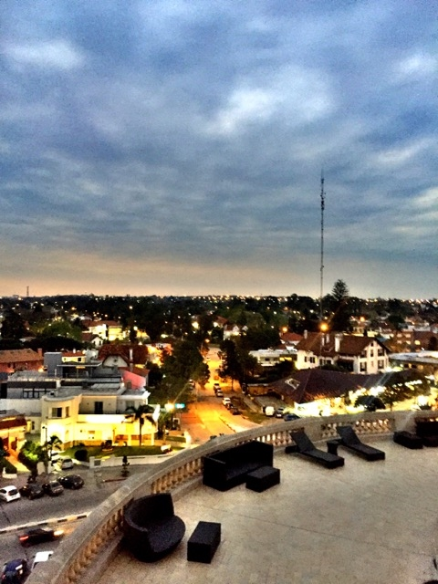 Vista do Sofitel Montevideu