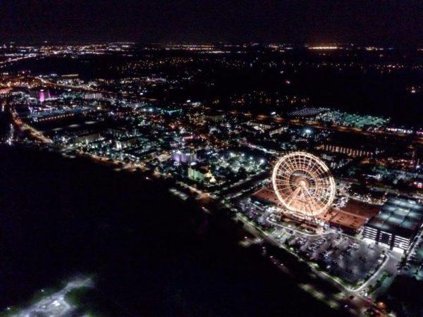 Vista para a Orlando Eye