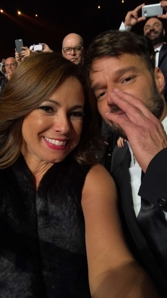 Renata e Ricky Martin