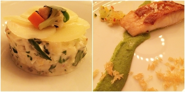 Salade e Peixe do dia
