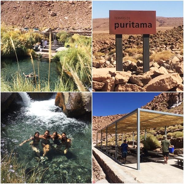 O que fazer no Atacama - Termas de Puritama