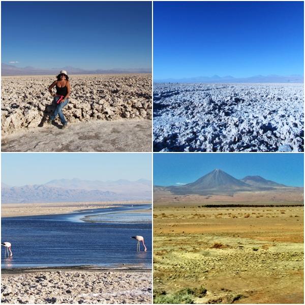 O que fazer no Atacama - Paisagem linda do Salar de Atacama