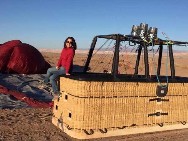 O que fazer no Atacama - Com o balão