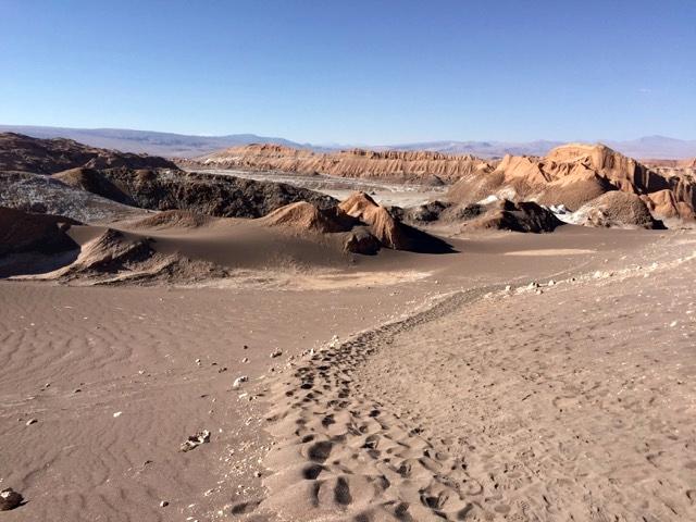 O que fazer no Atacama - Vale de La Luna