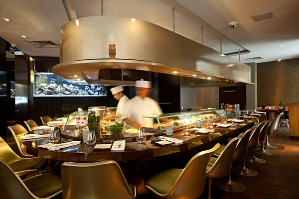 Ambiente do Sushi Leblon