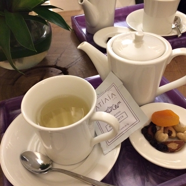 Chá pós-massagem