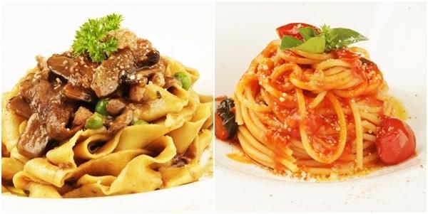 Papardelle e Spaghetti