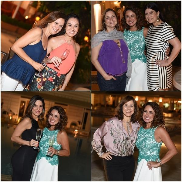 Lucia Rego e Lygia Bittencourt; Sylvia e Mariana; Luisi Valadão; Daniella Cavalcanti