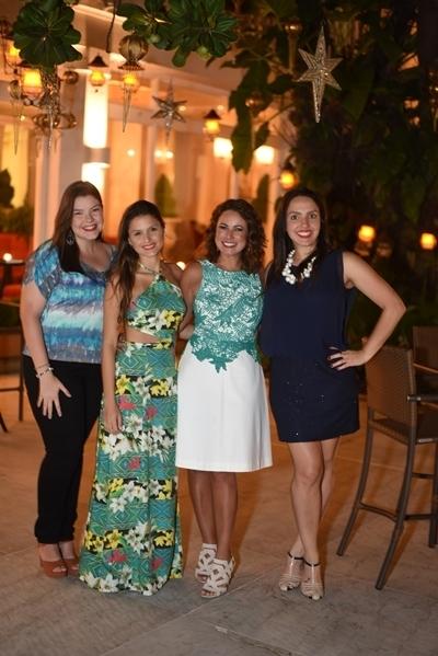 Uma parte da equipe: Amanda Santiago, Duda Vétere, Renata Araujo e Tamy Roxo